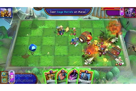 Hero Academy 2 Tactics game: androidappsru