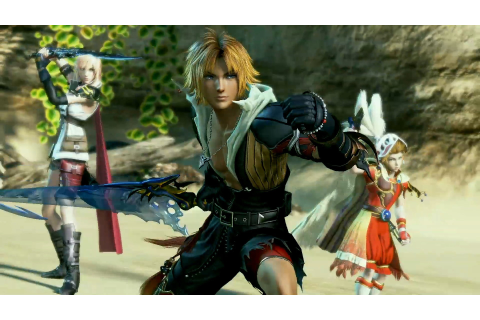 Dissidia Final Fantasy NT Leveling Up Won't Disrupt ...
