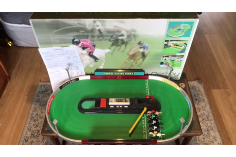 Peers Hardy Horse Racing Derby Tabletop Game Very Rare 5 ...