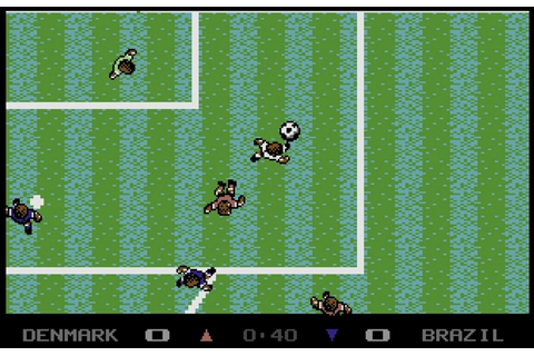Microprose Soccer - Sensible Software (1988) [RECENSIONE]