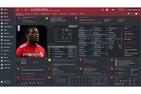 Football Manager 2019 takes off with the Bundesliga ...