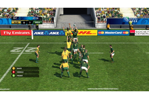 Rugby World Cup 2015 tie-in game announced – Thumbsticks