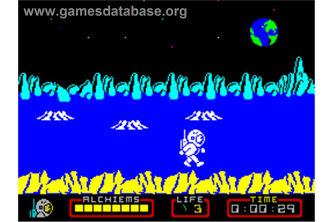 Nodes of Yesod - Sinclair ZX Spectrum - Games Database