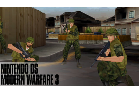 Call of Duty Modern Warfare 3 Defiance NDS ROM for DraStic ...