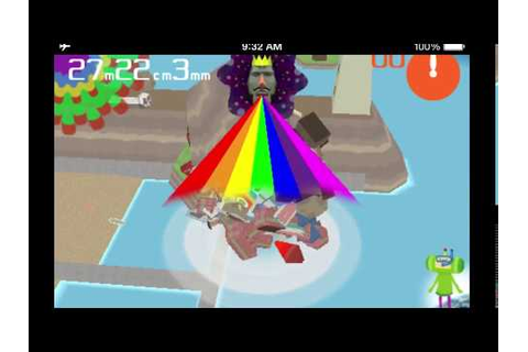 I Love Katamari and Katamari Amore - Game Over screen ...