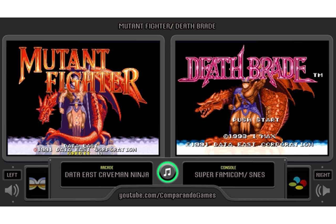 Mutant Fighter (Arcade vs Super Famicom) Side by Side ...