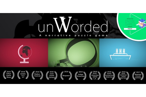 unWorded Innovative Narrative Puzzle Game Now Available on ...