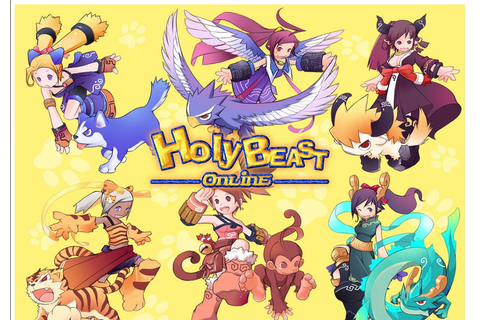 HolyBeast Online Games Actions Raise Lovely Pets
