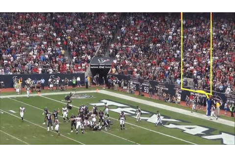 Texans NFL Football Game Wow! - YouTube