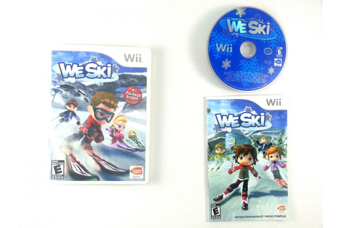 We Ski game for Wii (Complete) | The Game Guy