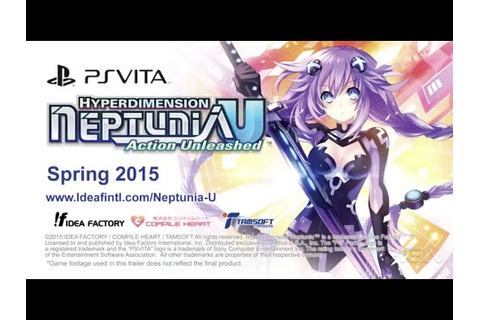 Hyperdimension Neptunia U: Action Unleashed - 1st English ...