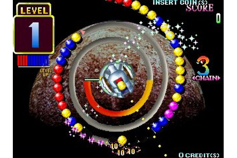 Puzz Loop (1998) by Mitchell Arcade game