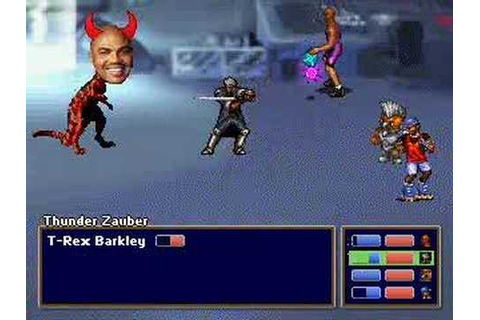 Barkley: Shut Up and Jam: Gaiden/ Final Boss, and Ending ...