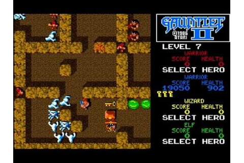 Gauntlet II (amiga) - YouTube