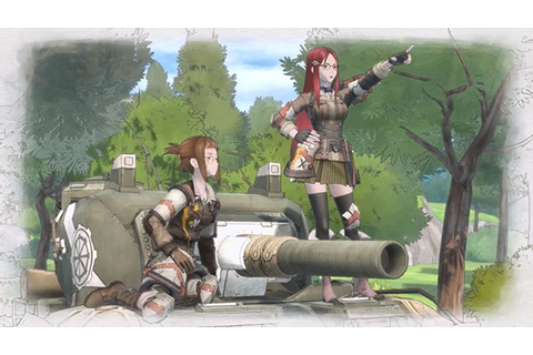 Valkyria Chronicles 4 world view introduction trailer ...