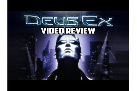 Retro Review - Deus Ex PC Game Review - YouTube