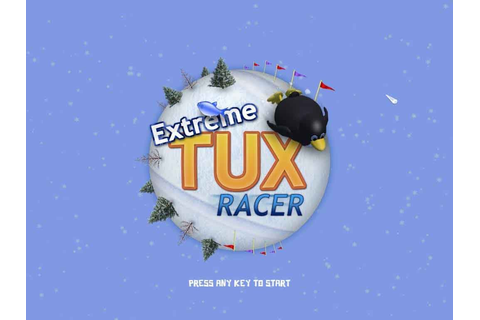 Tux racer Linux Game Console – ติดตามการเคลื่อนไหวของเกม ...