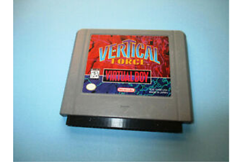 Vertical Force (Nintendo Virtual Boy) Game | eBay