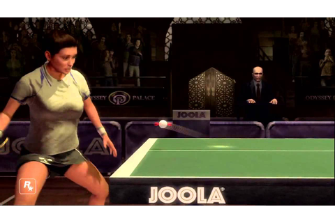 Gameplay - Rockstar Games présente : Table Tennis ...