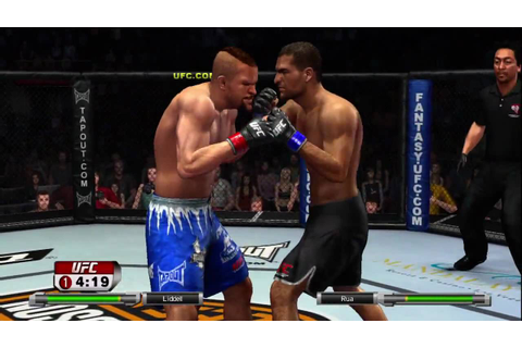 UFC 2009 Undisputed Demo Gameplay #1 - YouTube