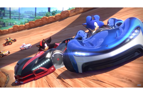 Eerste gameplaytrailer van Team Sonic Racing