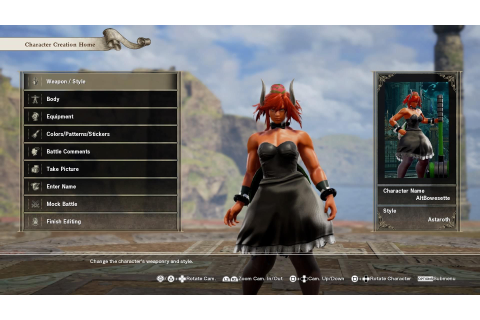 The best Soulcalibur VI custom characters gallery | Xbox ...