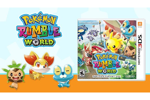 Pokemon Rumble World is Getting a Physical Release on ...