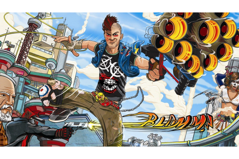 sunset overdrive is the cringiest looking game since watch ...