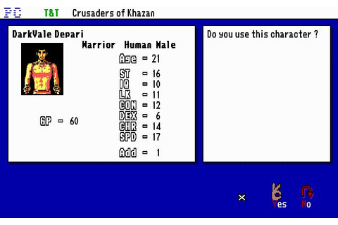 Tunnels & Trolls: Crusaders of Khazan Download (1990 Role ...