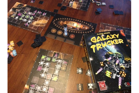 Galaxy Trucker Review | Board Game Reviews by Josh