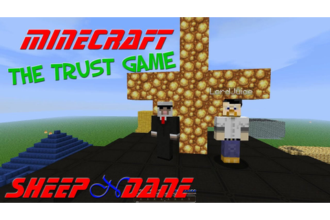 The Trust Game - Minecraft - Adventure Map - YouTube