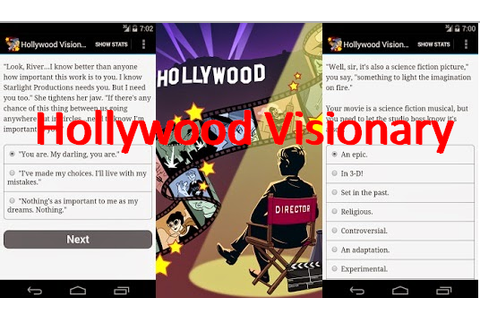 Jeu Hollywood Visionary APK pour Android Télécharger
