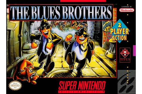 The Blues Brothers SNES Super Nintendo