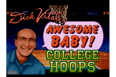 Dick Vitale's Awesome Baby! College Hoops Download Game ...