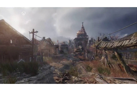 Metro Exodus - E3 2017 Gameplay - YouTube
