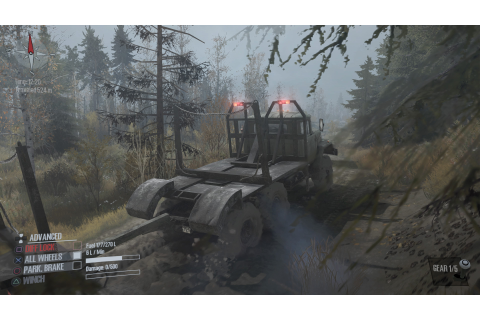Now Available on Steam Spintires MudRunner Gaming News