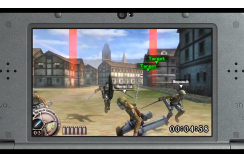 Attack on Titan: Humanity in Chains Coming West – Nintendo ...