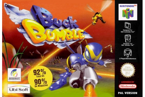 Buck Bumble (N64 / Nintendo 64) News, Reviews, Trailer ...
