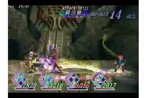 Tales Of Rebirth PSP - Vs Zilva - YouTube
