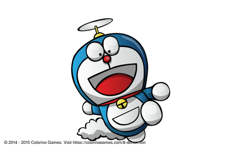 Doraemon - Coloring Games and Coloring Pages