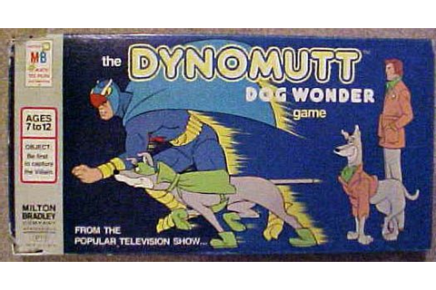 The Dynomutt Dog Wonder Game | Board Game | BoardGameGeek