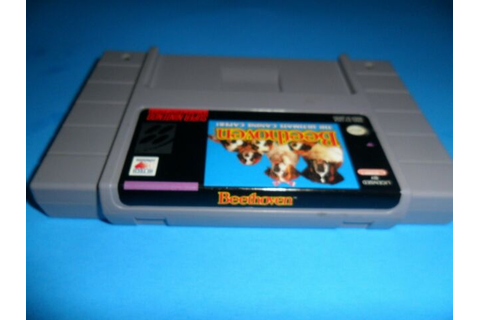 Beethoven The Ultimate Canine Caper - SNES Game Super ...