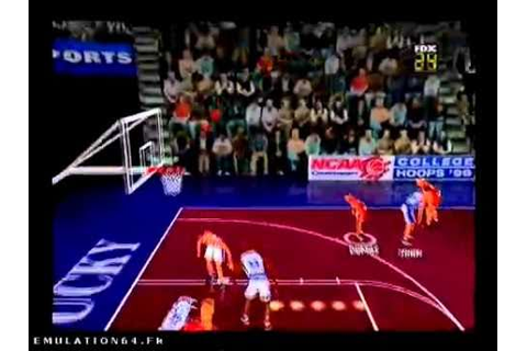 Fox Sports College Hoops 99 (Nintendo 64) - YouTube