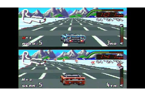 Top Gear SNES Gameplay Ending Super Nintendo - YouTube