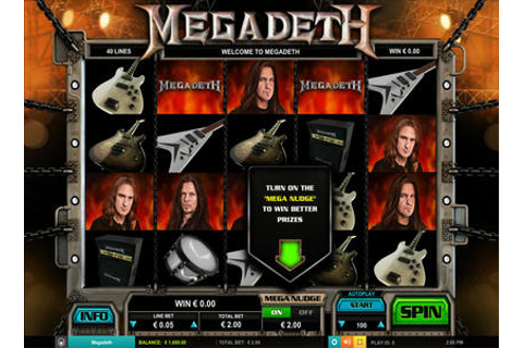 Leander Games Megadeth | Play Leander Games Megadeth Video ...