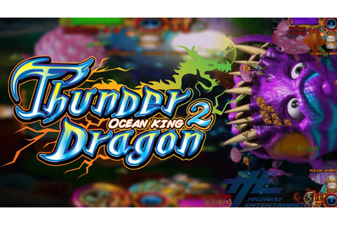 Thunder Dragon Ocean King 2 Game Play Demo - YouTube