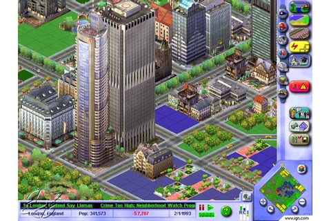 SimCity 3000 PC Game Full Free Download For PC - Games ...