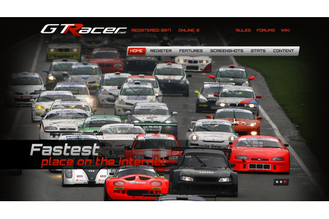 GTRacer - Online browser based racing game