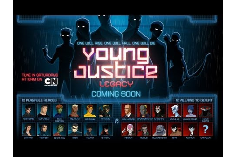 YOUNG JUSTICE LEGACY - E3 2013 Trailer [HD] - YouTube