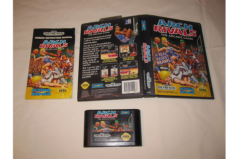Arch Rivals: The Arcade Game (Sega Genesis) Cartridge in ...